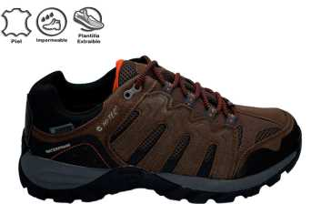 GREGAL LOW WP BROWN BLACK