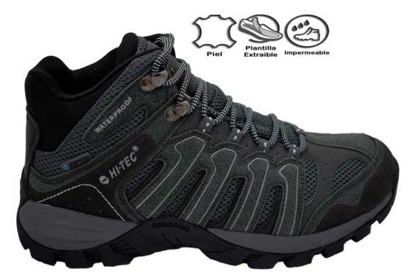 GREGAL MID WP DARK GREY