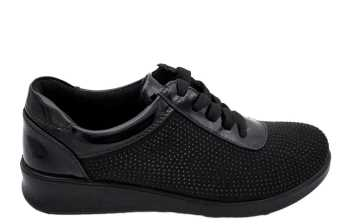 BLUCHER BRILLANTITOS NEGRO