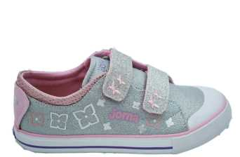 CANVAS SUGAR JUNIOR GRIS/ROSA