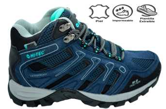 TORCA MID WP WOMEN BLUE/GREY