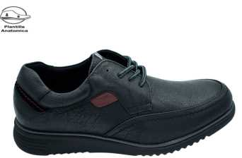 BLUCHER CASUAL NEGRO