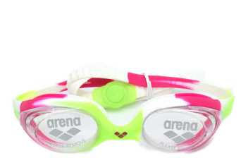 GAFAS DE PISCINA MARCA ARENA TRAINING SPIDER GOGGLES JUNIOR VERDINA
